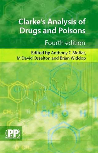 9780853699835: Clarke's Analysis of Drugs and Poisons +1-year Online Access Package