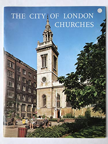 9780853721123: City of London Churches (Pride of Britain S.)