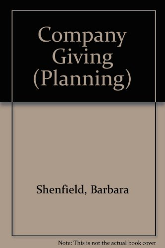 Company giving (Planning): Barbara Estelle Shenfield