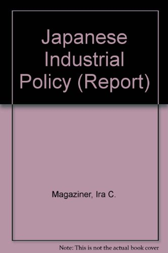 9780853741763: Japanese Industrial Policy (Report)