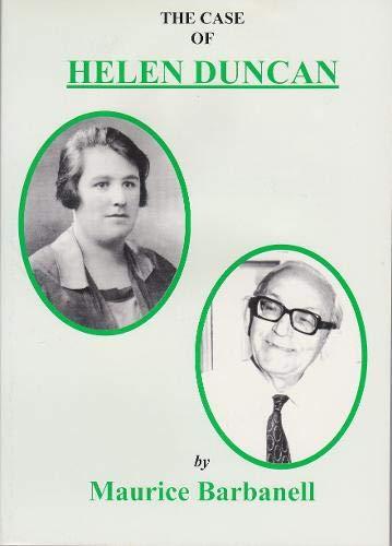 9780853841135: The Case of Helen Duncan