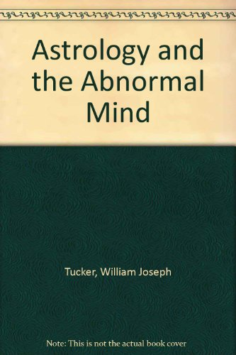 9780853870241: Astrology and the Abnormal Mind