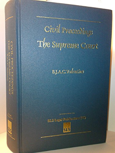9780853897071: Civil Proceedings - the Supreme Court