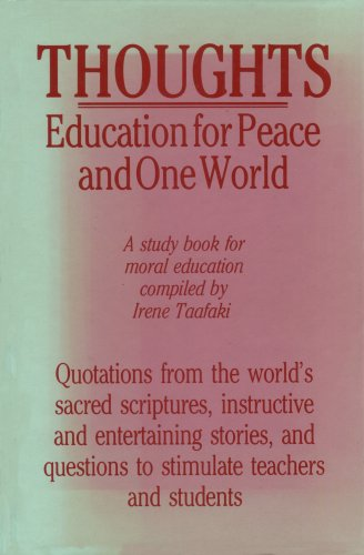 9780853982227: Thoughts Education for Peace and One World