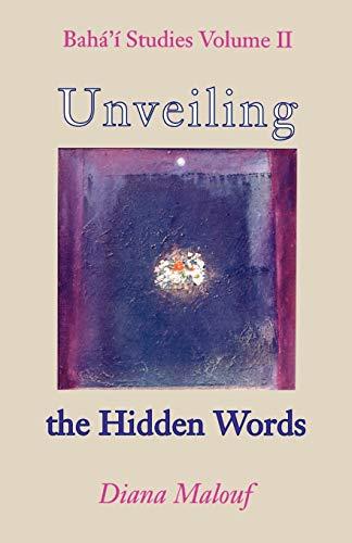 9780853984146: Unveiling The Hidden Words
