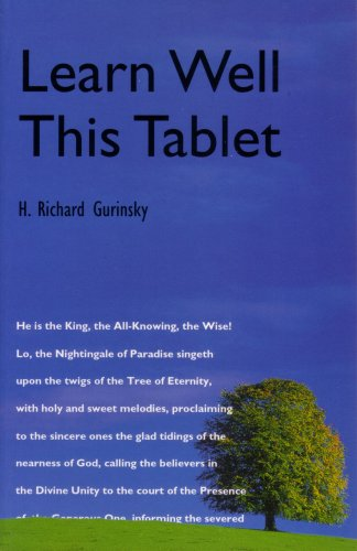 Learn Well This Tablet: Gurinsky