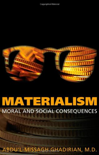 9780853985471: Materialism: Moral and Social Consequences