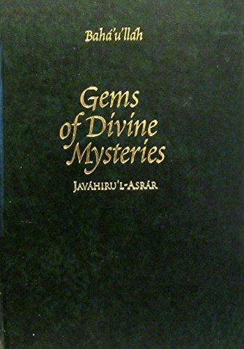 Gems of Divine Mysteries: Javahiru'l Asrar