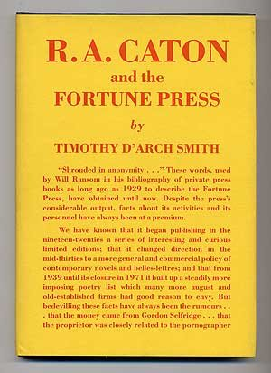 9780854000234: R.A. Caton and the Fortune Press: A Memoir and a Hand-List