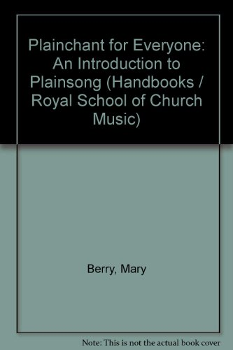 9780854020768: Plainchant for Everyone: An Introduction to