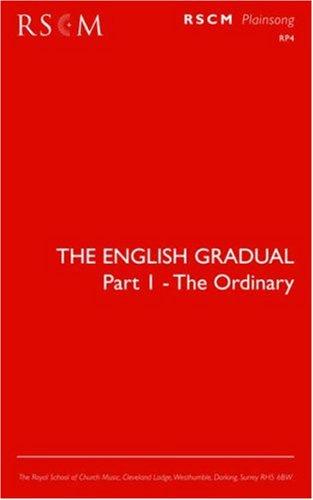 9780854021161: The English Gradual Part 1-The Ordinary