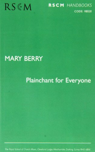 9780854021529: Plainchant for everyone