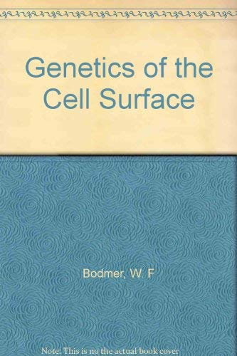 Genetics of the cell surface: A Royal Society discussion organized by W F Bodmer, held on 24 March ...