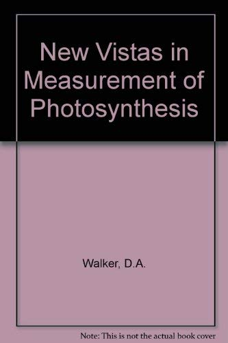 9780854033775: New Vistas in Measurement of Photosynthesis