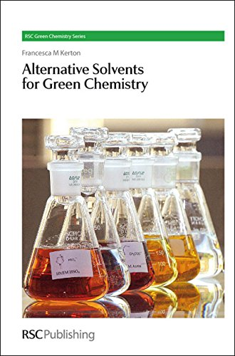 9780854041633: Alternative Solvents for Green Chemistry (RSC Green Chemistry Series)