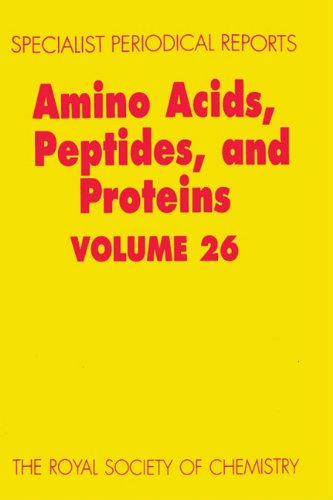 Amino Acids, Peptides and Proteins: Volume 26