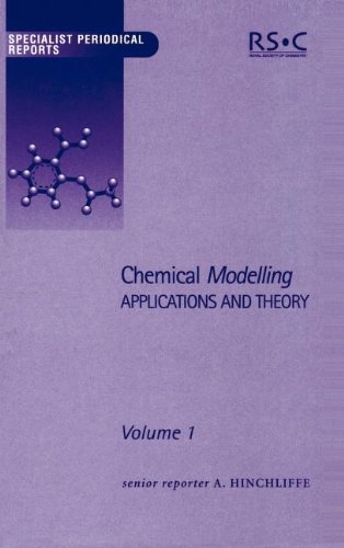 9780854042548: Chemical Modelling: Applications and Theory Volume 1 (Specialist Periodical Reports)