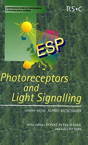9780854043118: Photoreceptors and Light Signalling: RSC (Comprehensive Series in Photochemical & Photobiological Sciences)