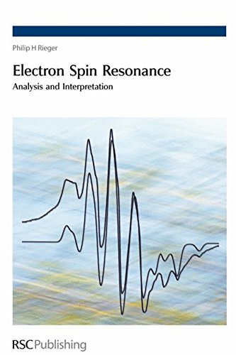 9780854043552: Electron Spin Resonance: Analysis and Interpretation