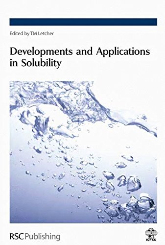 9780854043729: Developments and Applications in Solubility: RSC