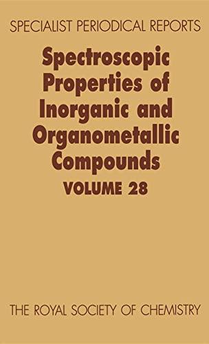 Spectroscopic Properties of Inorganic and Organometallic Compounds: