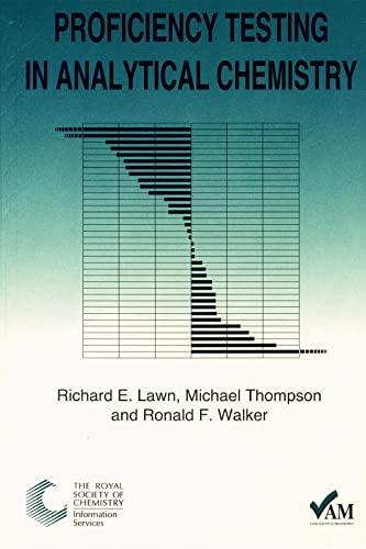Proficiency Testing in Analyt.: Walker, Ron; Thompson,