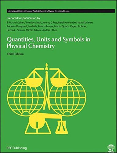 9780854044337: Quantities, Units and Symbols in Physical Chemistry: RSC