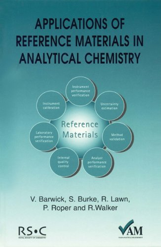 Applications of Reference Materials in Analytical Chemistry: Ron Walker; Peter