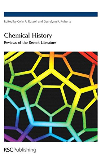 9780854044641: Chemical History: Reviews of the Recent Literature