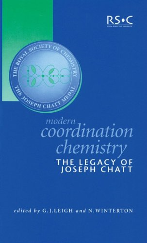 Modern Coordination Chemistry: The Legacy of Joseph: Editor-G.J. Leigh; Editor-N.
