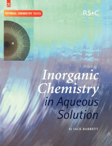9780854044719: Inorganic Chemistry in Aqueous Solution: RSC (Tutorial Chemistry Texts)