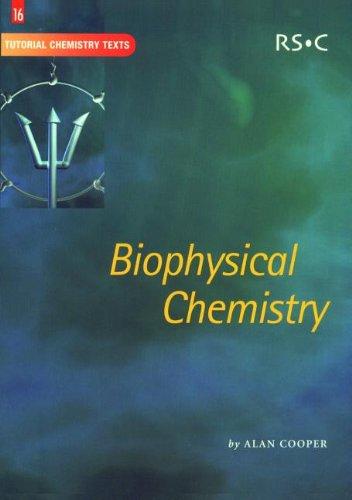 9780854044801: Biophysical Chemistry: RSC (Tutorial Chemistry Texts)