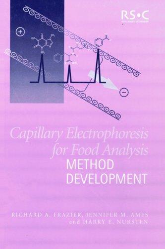 9780854044924: Capillary Electrophoresis for Food Analysis: Method Development