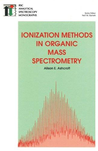 9780854045709: Ionization Methods in Organic Mass Spectrometry