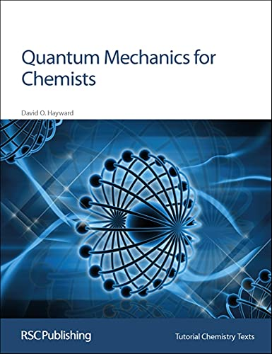 9780854046072: Quantum Mechanics for Chemists: RSC (Tutorial Chemistry Texts)