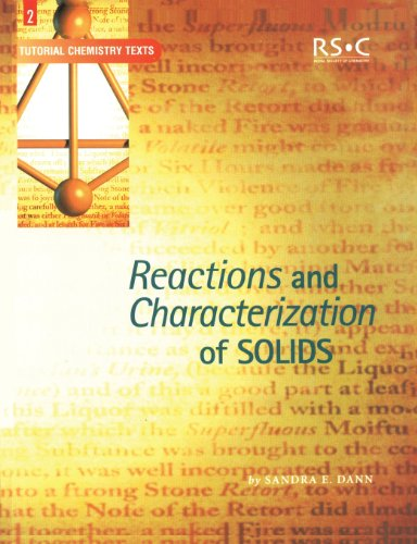 9780854046126: Reactions and Characterization of Solids (Basic Concepts In Chemistry)