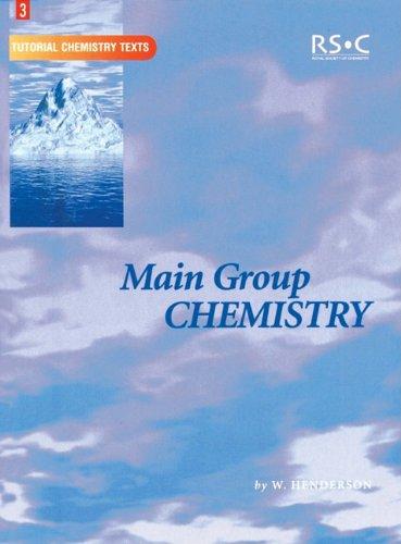 9780854046171: Main Group Chemistry: RSC (Tutorial Chemistry Texts)