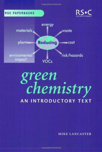 9780854046201: Green Chemistry