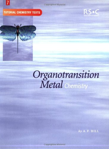 9780854046225: Organotransition Metal Chemistry: RSC (Tutorial Chemistry Texts)