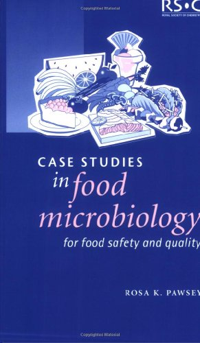 9780854046263: Case Studies in Food Microbiology for Food Safety and Quality