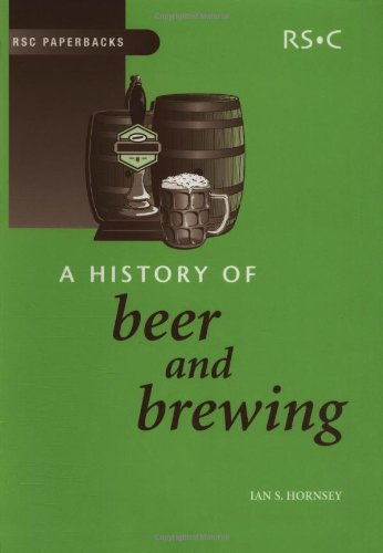 9780854046300: A History of Beer and Brewing: Rsc (RSC Paperbacks)