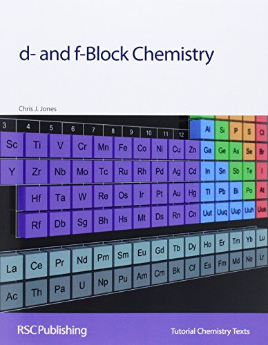 9780854046379: d- and f-Block Chemistry: RSC (Tutorial Chemistry Texts)