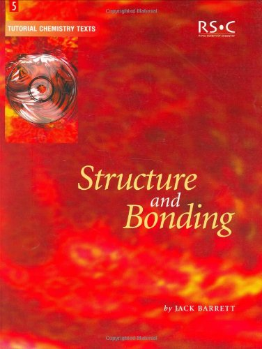 9780854046478: Structure and Bonding (Tutorial Chemistry Texts)