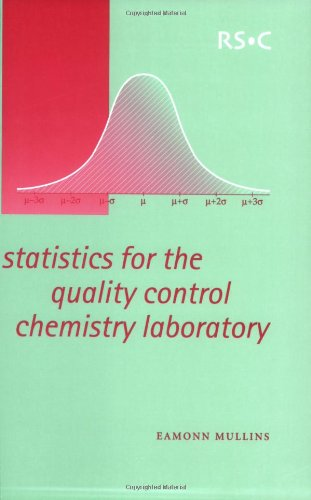 9780854046713: Statistics for the Quality Control Chemistry Laboratory: RSC
