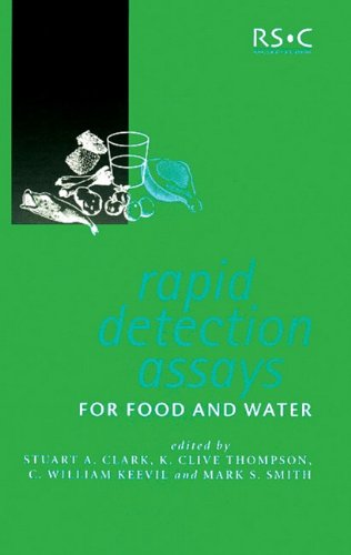 9780854047796: Rapid Detection Assays for Food and Water (Special Publications)