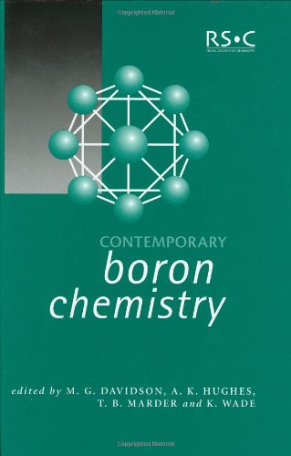 Contemporary Boron Chemistry (Special Publication)