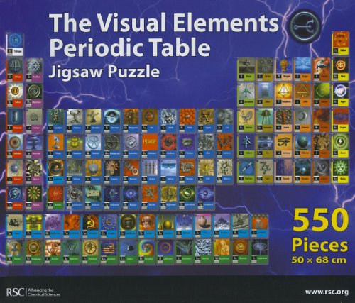 The Visual Elements Periodic Table Jigsaw Puzzle By M Robertson