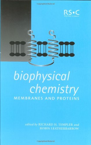 9780854048519: Biophysical Chemistry: Membranes and Proteins (Special Publications)