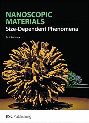 9780854048571: Nanoscopic Materials: Size-Dependent Phenomena