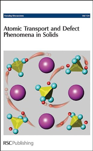 Atomic Transport and Defect Phenomena in Solids: Faraday Discussion No. 134